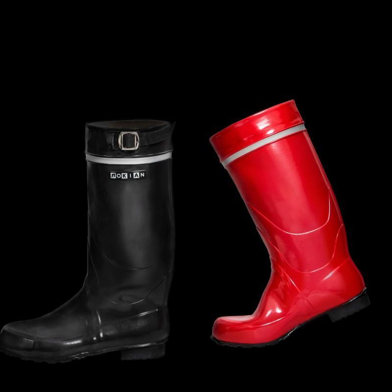 Nokia city rubber boots in garden - 2 6