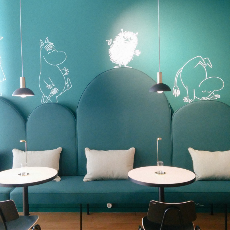 THE SPIRIT OF HELSINKI: Coffee at the Moomins