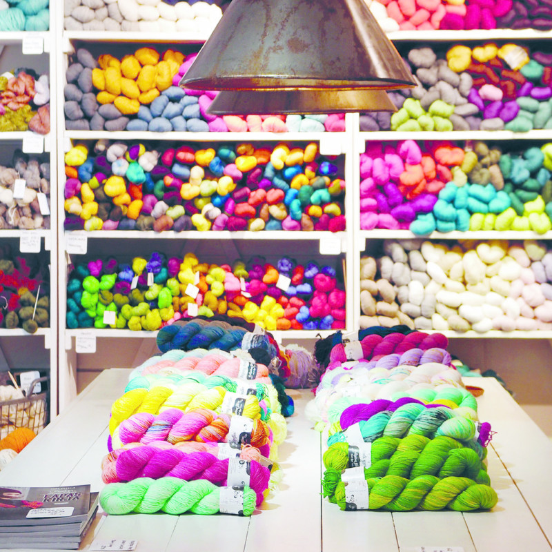 THE SPIRIT OF HELSINKI: Yarn Candy