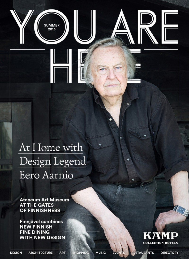 At Home with Design Legend Eero Aarnio